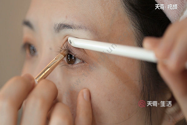 怎么画眼妆