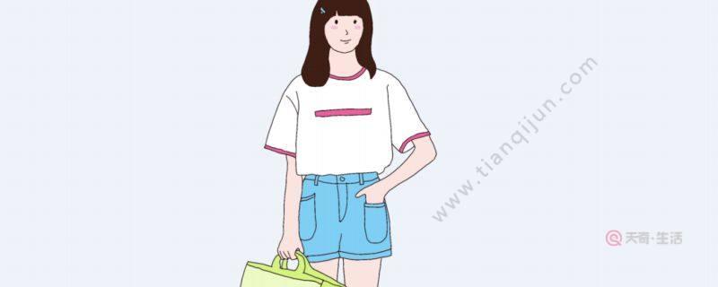 夏季女生牛仔短裤搭配什么上衣