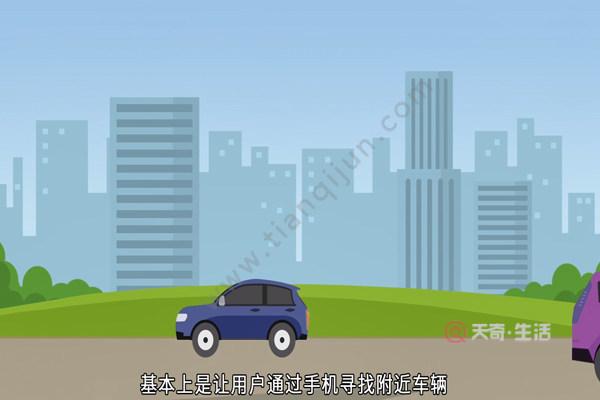 共享汽车怎么用