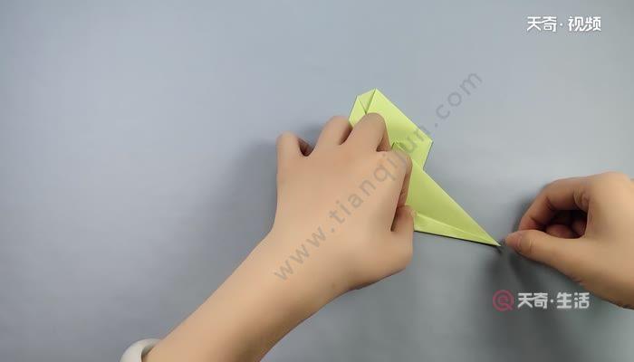 蝌蚪的折法 蝌蚪的简单折法