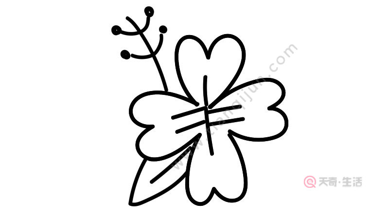 花朵简笔画画法简单怎么画