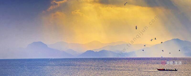 海上日出描写了哪两种日出奇观