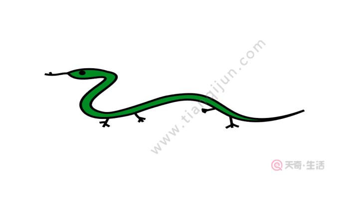 画蛇添足简笔画