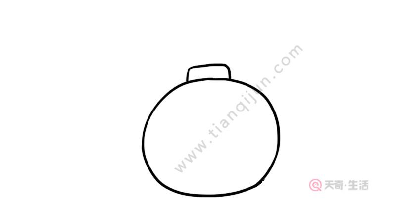 炸弹简笔画
