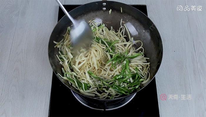 尖椒炒豆丝的做法 尖椒炒豆丝怎么做