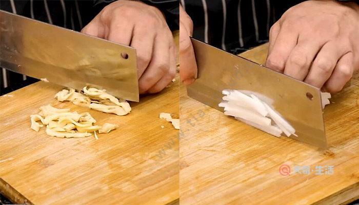 糟炒鸡丝的做法 怎么做糟炒鸡丝