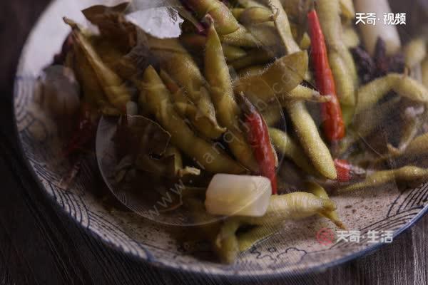 盐水毛豆的做法 盐水毛豆怎么煮