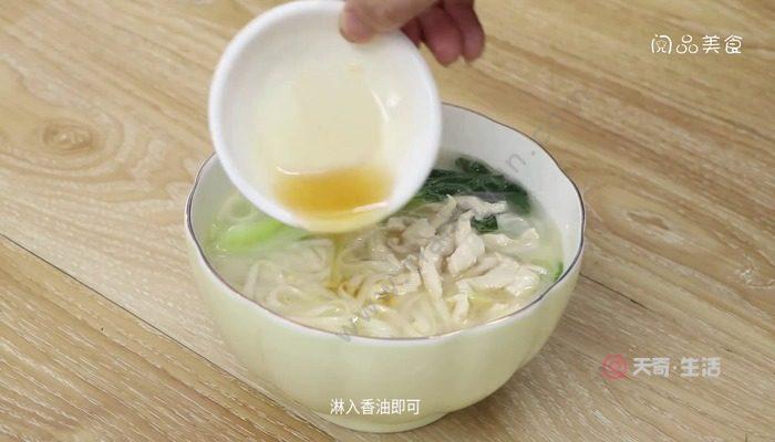 清汤面怎么做 清汤面怎么做好吃